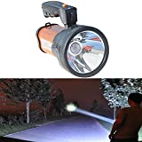Search : Odear® Super Bright Outdoor Handheld Portable Cree T6 LED 2400 Lumens Rechargeable Flashlight Torch Searchlight Lamp