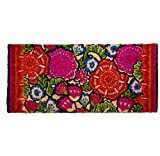 tag - Talavera Estate Coir Mat, Decorative All-Season Mat for the Front Porch, Patio or Entryway, Multi