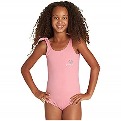e5e0461aa0 Billabong Big Girls' Sol Searcher One Piece Swimsuit, Party Pink, ...