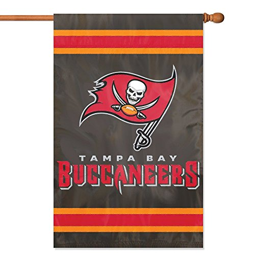 - Party Animal Tampa Bay Buccaneers Banner NFL Flag