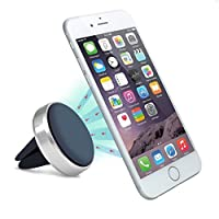 Creazy® New Universal 360 Car Air Vent Mount Magnetic Cradle Holder Stand For Samsung Phone