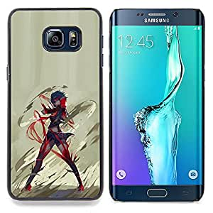 - Anime Hero/ Hard Snap On Cell Phone Case Cover - Cao - For Samsung Galaxy S6 Edge Plus