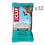 builders protein bars - CLIF BAR - Energy Bar - Cool Mint Chocolate - With Caffeine 2.4 Ounce Protein Bar, 12 Count