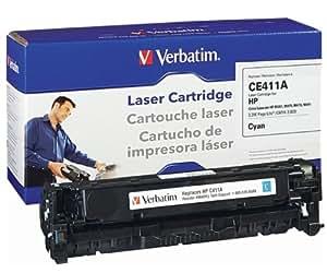 Verbatim Remanufactured Toner Cartridge Replacement for HP CE411A (Cyan)
