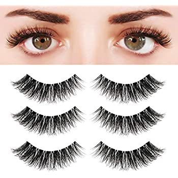 1d501f7d7c0 BEPHOLAN 3 Pairs 5D Multi-layered Faux Mink Lashes| Fluffy Volume False  Eyelashes| Natural Look| 3D Layered Effect| Reusable| 100% Handmade &  Cruelty-Free| ...