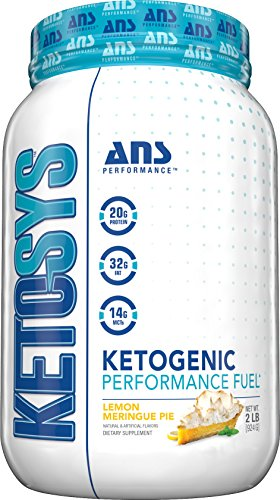 (Ketosys - Ketogenic Performance Fuel Meal Replacement Formula Shake   Lemon Meringue Pie Flavor   High Healthy Fat & Protein with Low Net Carbs   MCTs for Fast Energy  )