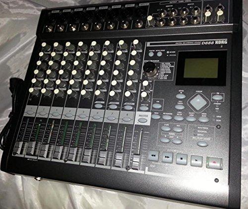Korg D888 Digital Audio Multi Track Recorder