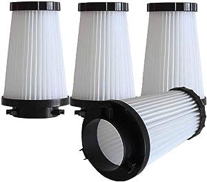 KingBra 4Pcs Replacement HEPA Vacuum Filter Compatible with Dirt Devil F2 Part #3SFA11500X