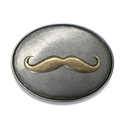 Mustache Bracket - The BevBuckle for your belt! Holds your bottle or can so you can be hands free! (MUSTACHE)