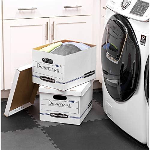 Bankers Box STOR//File Storage Boxes Standard Set-Up Letter//Legal Lift-Off Lid