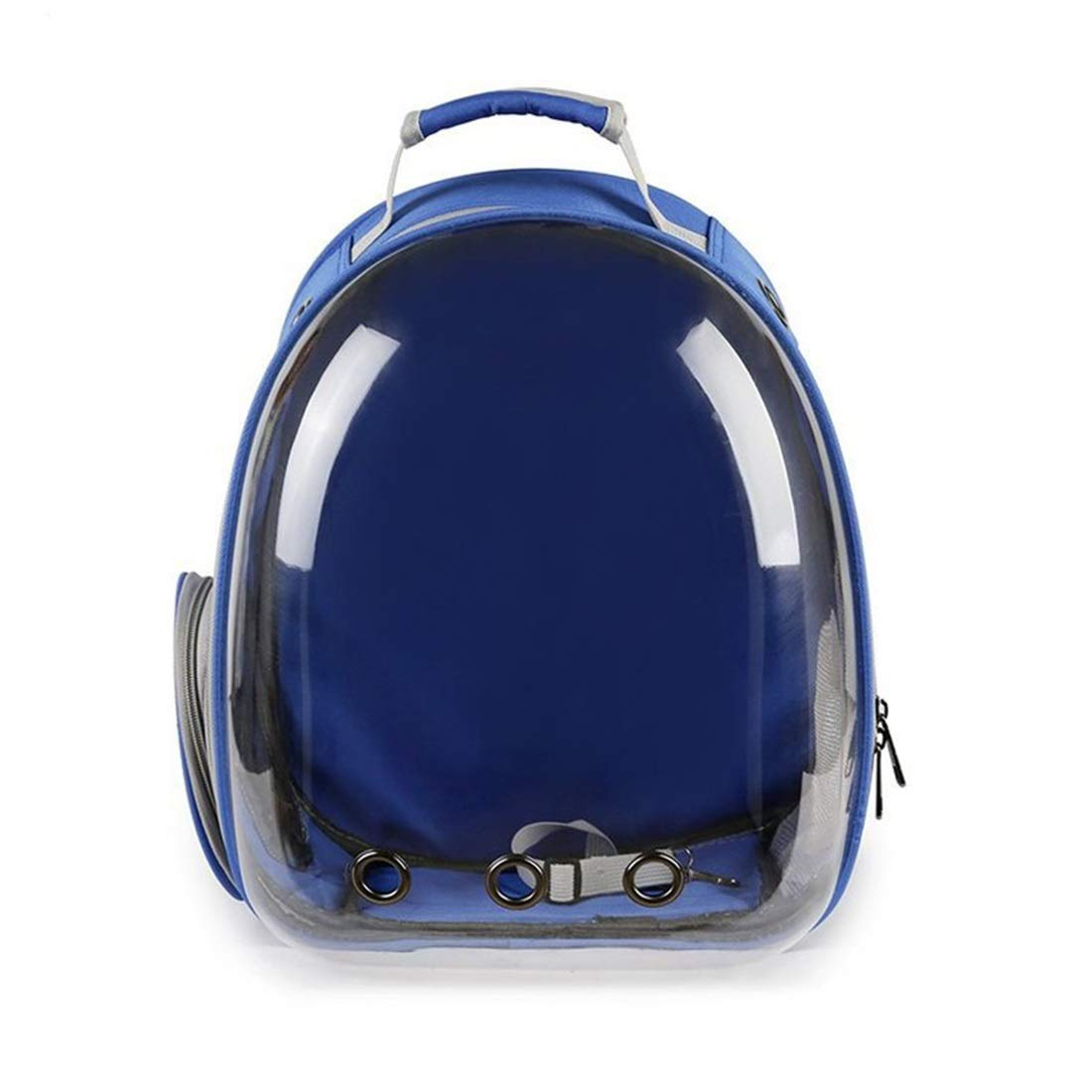 bluee 42x31x28cm bluee 42x31x28cm Zebuakuade Easy Bag Kitten And Puppy Space Capsule Backpack Large Capacity Breathable Backpack,Pet Bag (color   bluee, Size   42x31x28cm)