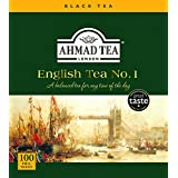AHMAD TEA English No.1 Black Teabags, 100 Count