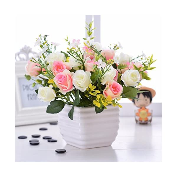 Situmi-Artificial-Fake-Flowers-Potted-Plants-Ceramic-Vases-Gift-Garden-Decoration-White-Camellia-Home-Accessories