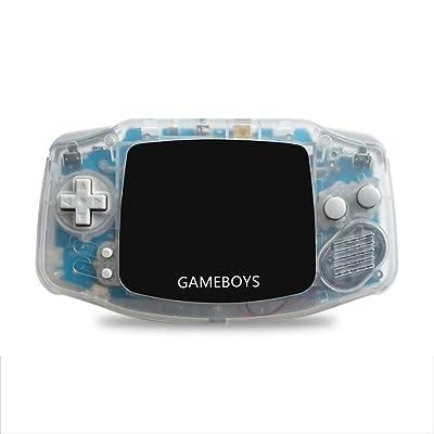 3 pulgadas retro 4000 en 1 niños consola de juegos portátil jugador del juego de la consola del juego (blanco): Bricolaje y herramientas