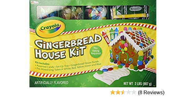 Amazon.com : Crayola Gingerbread House Kit : Gourmet Food : Grocery ...
