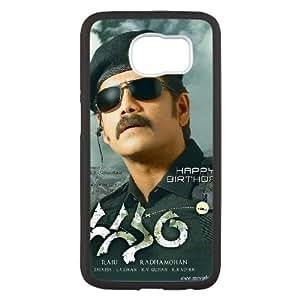 Alta resolución S6M88 Gaganam cartel X3T7JV funda Samsung Galaxy S6 funda caja del teléfono celular cubren PP4URL4CV negro
