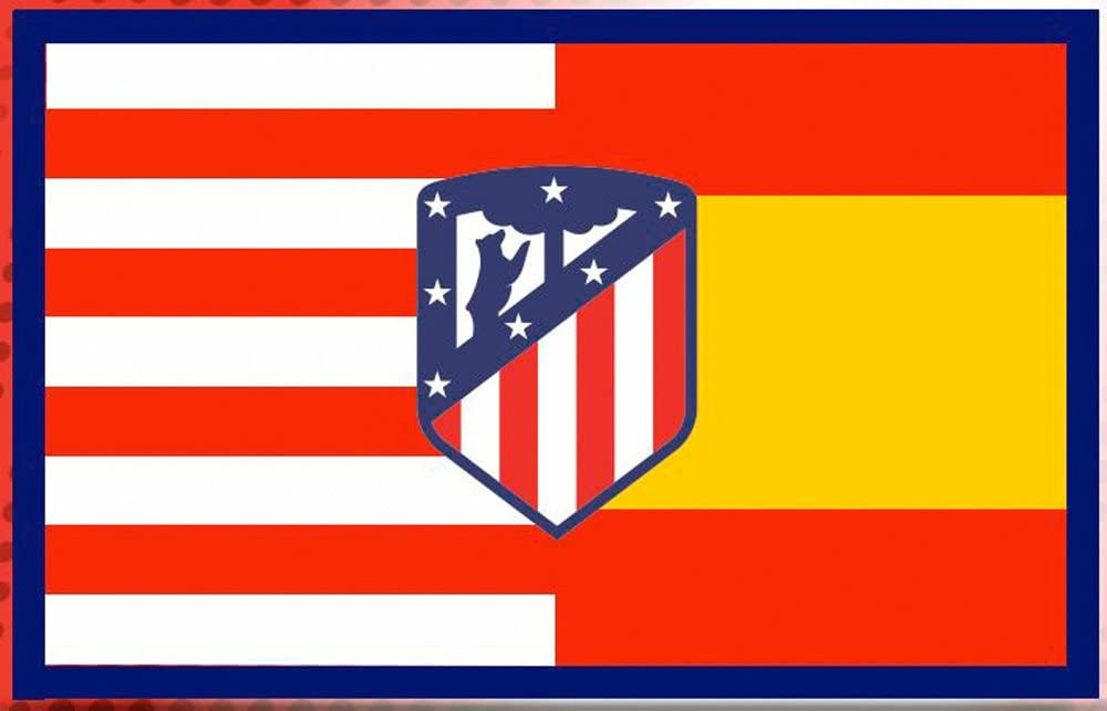 Atletico de Madrid BANDERA 150x100 cm: Amazon.es: Deportes y aire libre
