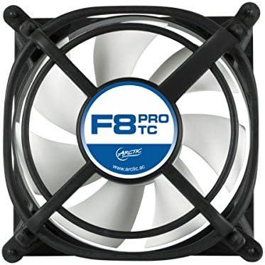 ARCTIC F8 Pro TC – 80 mm Ventilador de Caja, para CPU con Control ...