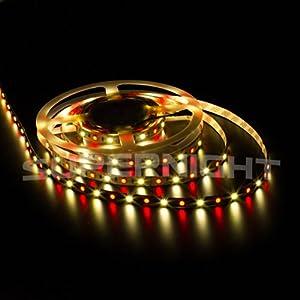 SUPERNIGHT 5050 16.4ft 5M RGBWW LED Strip
