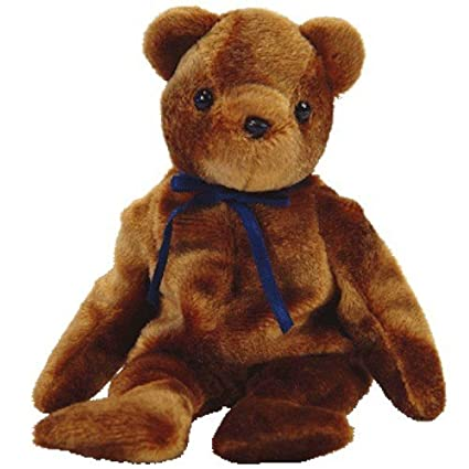 Amazon.com  Ty Beanie Babies (Baby) Ted-e Old Face Brown Bear  Toys ... 3ed8548e8a0