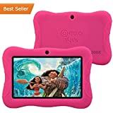 Contixo Kids Safe 7 Quad-Core Tablet 8GB, Bluetooth, Wi-Fi, 20+ Free Games, HD Edition w/ Kids-Place Parental Control, Kid-Proof Case (Pink) - Best Gift