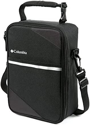 Columbia Northern Trek Upright Lunch Pack with HardBody Liner, Black