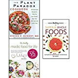 img - for plant paradox cookbook, hidden healing powers of super & whole foods and healthy medic food for life 3 books collection set - 100 delicious recipes to help you lose weight heal your gut book / textbook / text book