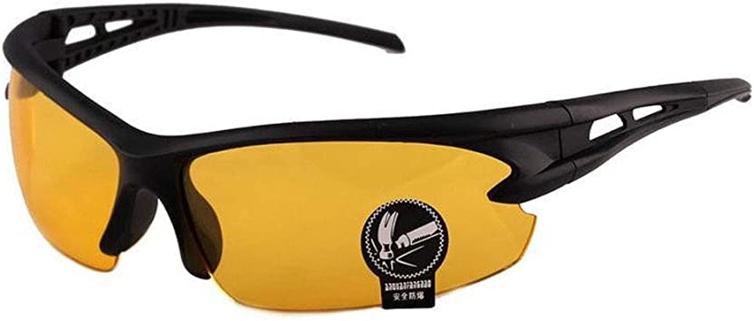 N Night Driving vision HD Glasses Prevention Yellow Driver Sunglasses Eyeglasses