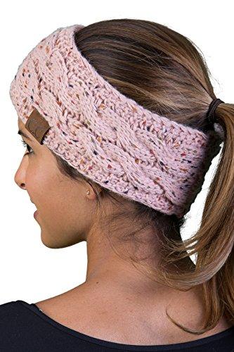 Funky Junque HW-6033-71 Confetti Head Wrap - Indi Pink
