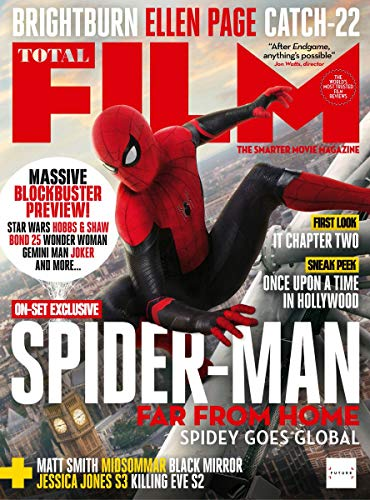 Spider Man Magazine - Total Film Issue 286 : June 2019 : Spider-Man Far From Home