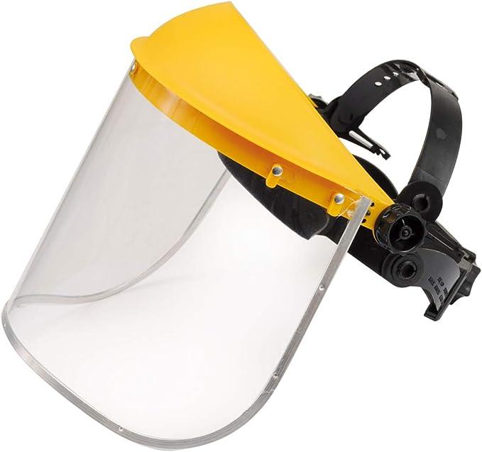 Klappvisier Gesichtschutz für alle Arbeiten mit der Motorsense