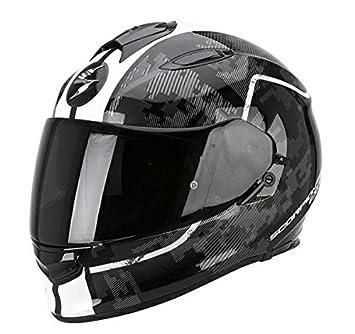 Casco de moto SCORPION Exo 510Negro/Blanco