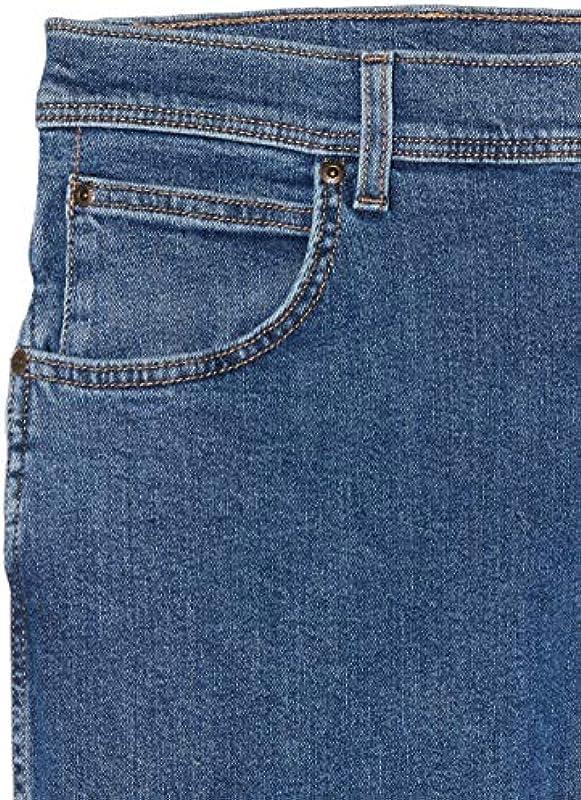 Wrangler Męskie dżinsy Regular Fit: Odzież
