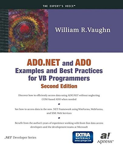 NET And ADO Examples And Best Practices For VB Programmers (Second  Edition): William R. Vaughn, Bill Vaughn: 9781893115682: Amazon.com: Books