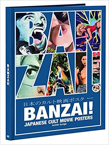 amazon banzai japanese cult movie posters armin junge 洋書