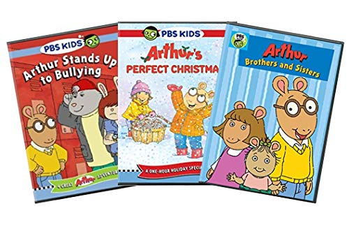 PBS Arthur Educational & Learning DVD Collection: Arthur Stands Up To Bullying / Arthur's Perfect Christmas / Arthur: Brothers & Sisters (Christmas Arthur's Dvd Perfect)