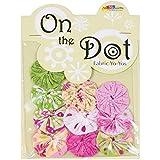 "Fabric Palette On the Dot Yo-Yos 1.5"" 10/Pkg-Flutterby"