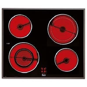 Teka VR 622 - Placa (Incorporado, Eléctrico, Negro, Botones, 0.9m, 230V)