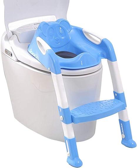 kitech ildhrrd inodoro asiento infantil inodoro Entrenamiento con escalera/ Escaleras de WC Trainer Niños orinal Trainer