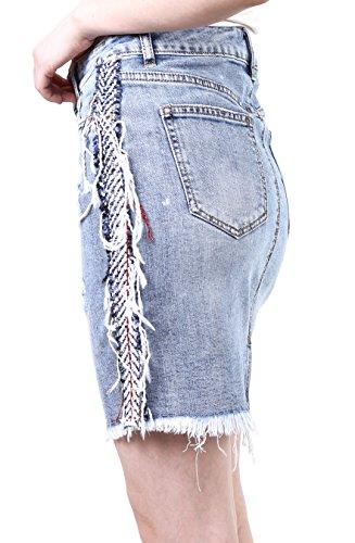 Crayon Casual en Jupe Femme TOXIK3 au XS 3 Jean Jupe Stretch Denim Jeans Courte Jupe XL Mini Jupe du ngPxf