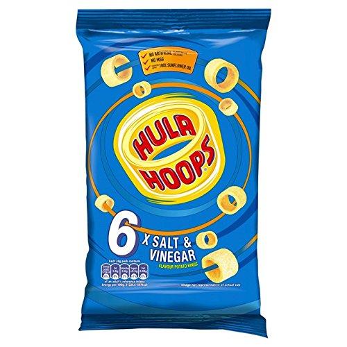 KP Hula Hoops Salt and Vinegar 6 Pack