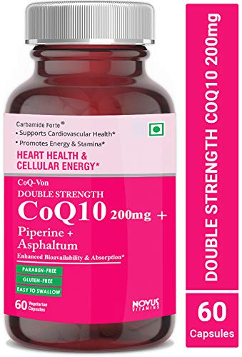 c719ad4b73a8 Carbamide Forte Coenzyme Q10 (CoQ10) 200mg with Piperine 10mg + Asphaltum  50mg – 60
