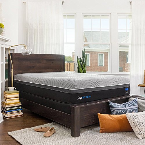 Sealy Posturepedic Hybrid Performance Kelburn 13-Inch Medium Firm Cooling Mattress, Full, Made in USA,  10 Year Warranty