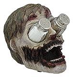 zombie salt and pepper set - Ebros Gory Eyeless Walking Dead Zombie Head Salt And Pepper Shakers Holder Figurine Set 7.25