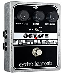 Get down! Generates deep, phat bass tones one octave below the notes you play. Two separate smoothing filters enable you to tailor your sub-octave signal to the exact bass sound you desire, separating the Octave Multiplexer from other octave ...