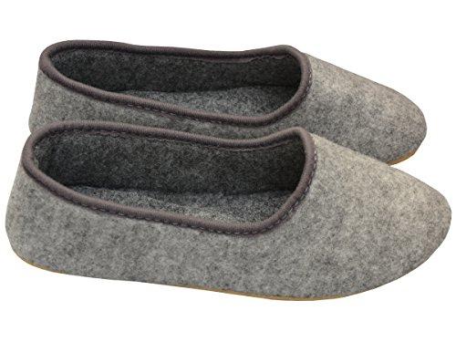 Bawal, Pantofole donna Grigio Grau 40