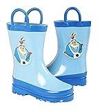 Dsiney Frozen Boys Blue Rain Boots - Size - Best Reviews Guide