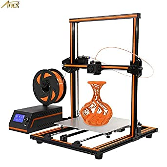 Anet E12 3D Printer, Aluminum Frame High Precision Desktop 3D Printer Kits Reprap DIY Kit Set Off-line Printing Free 10m Filament - Support ...