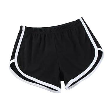 094b420e15082 Hosaire Femme Short de Sport Casual Yoga Fitness Elastique Short Été Unique  Taille Shorts décontractés Mode