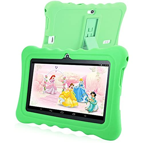 GBlife GBtiger 7.0 inch White WiFi GPS Bluetooth Capacitive Screen Android 4.4 Kids Tablet PC with 8GB ROM (Green) Coupons
